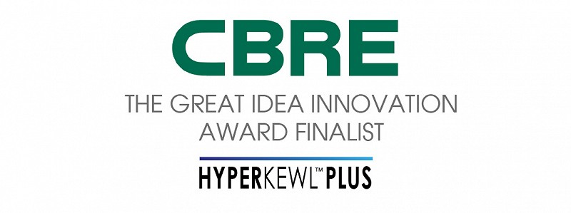 HyperKewl Plus shortlisted for CBRE innovation award