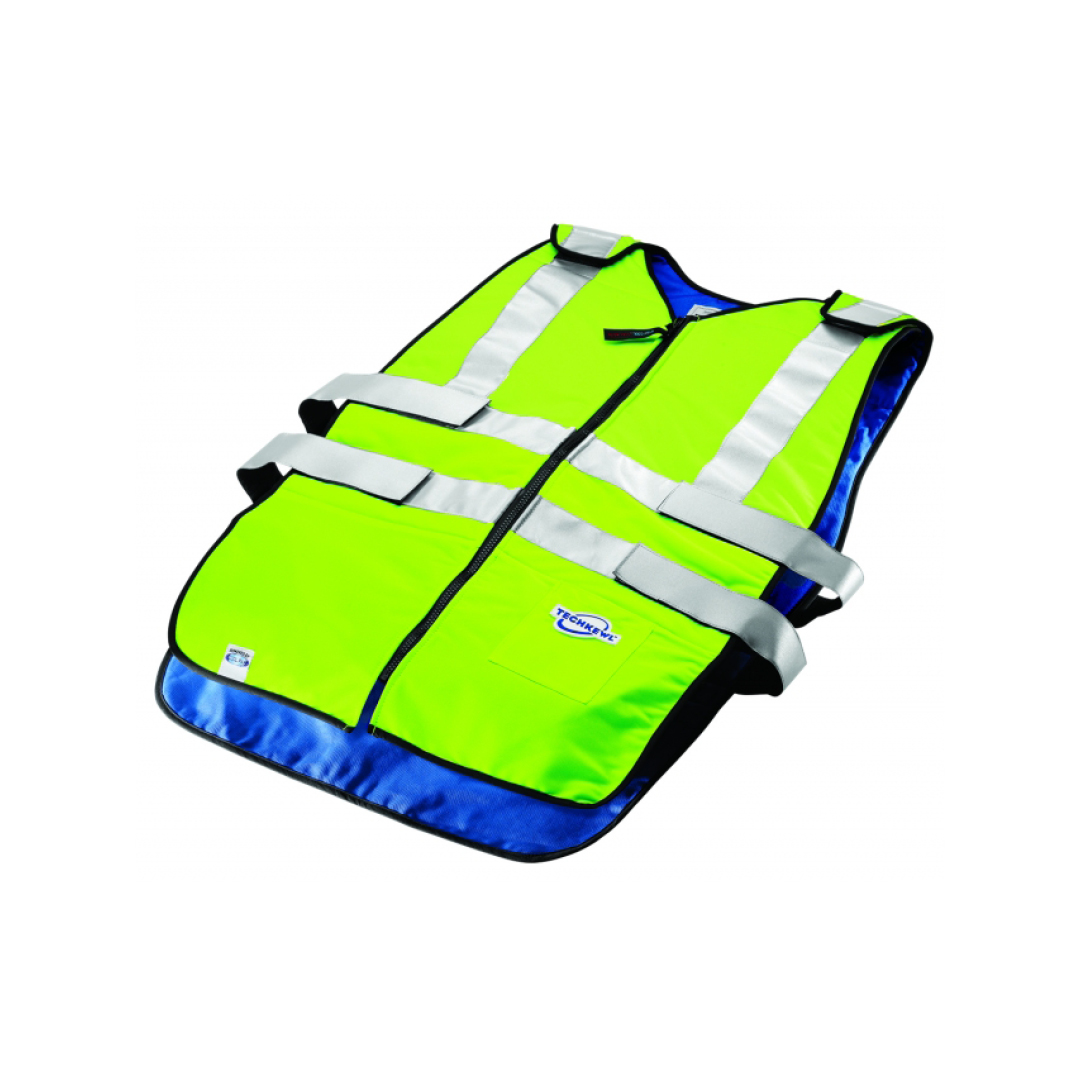 Product image for Techniche Phase Change Traffic Safety Hi-Viz Cooling Vests