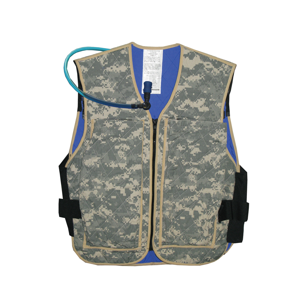 Product image for TechNiche Military Hybrid Cooling Vest with Built-In Hydration System